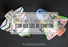 Naves Espaciales con Rollos de Cartón
