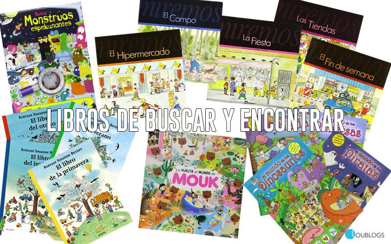 Libros de buscar y encontrar para niños