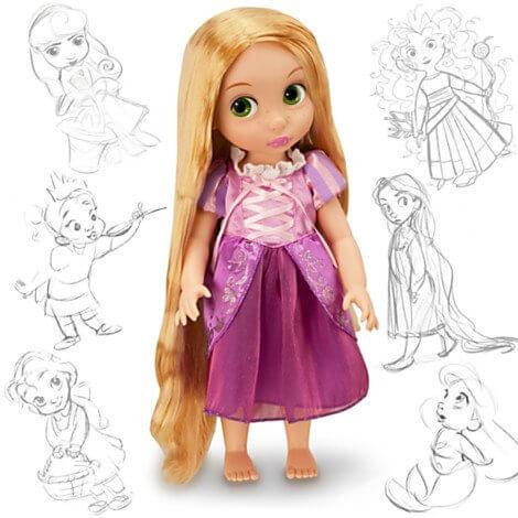 Muñeca Rapunzel Animators