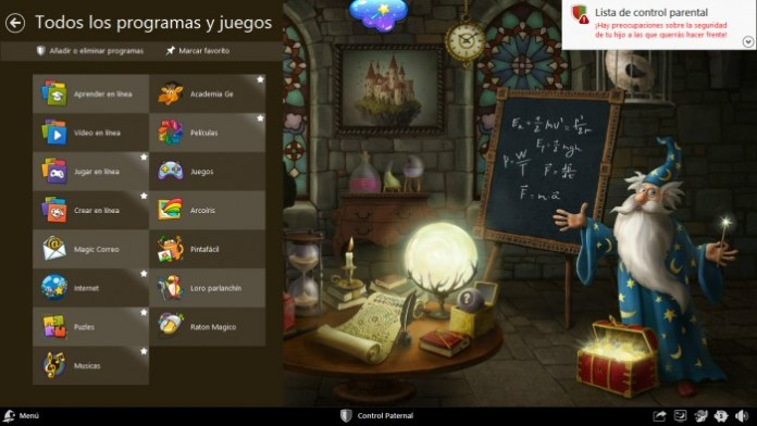 Magic Desktop el Escritorio Mágico para Niños