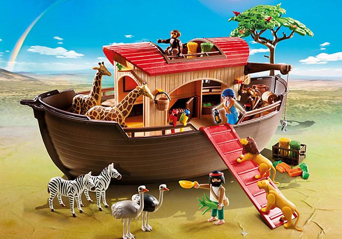 Arca de Animales y Camión de Reciclaje