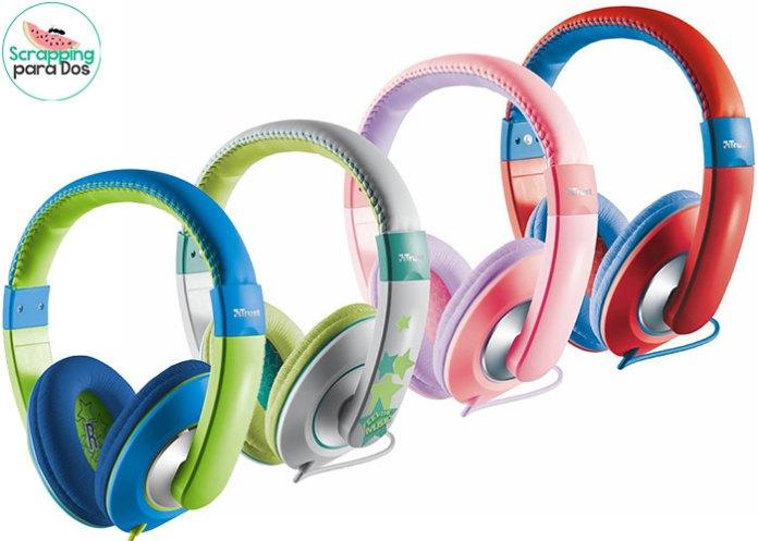 auriculares especiales para niños