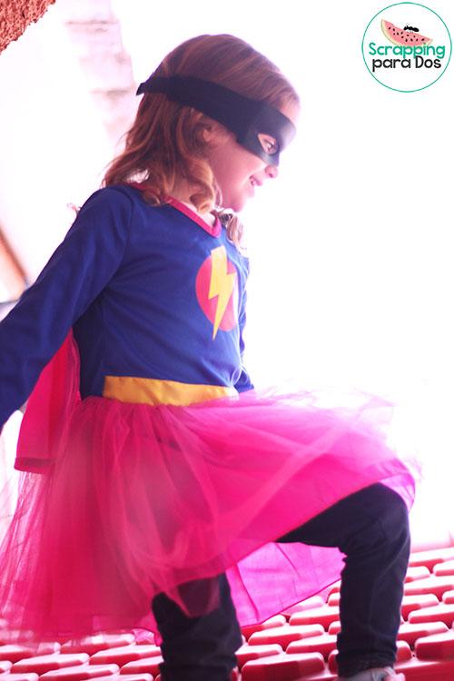 disfraz de superheroina de imaginarium
