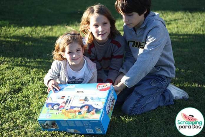 Autocaravana para Jugar con Playmobil