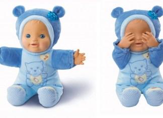 muñeca vtech azul