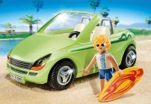 playmobil coche de la playa