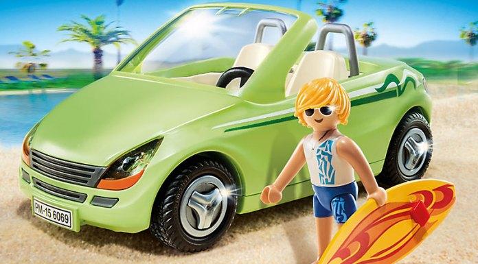 playmobil coche de la playa
