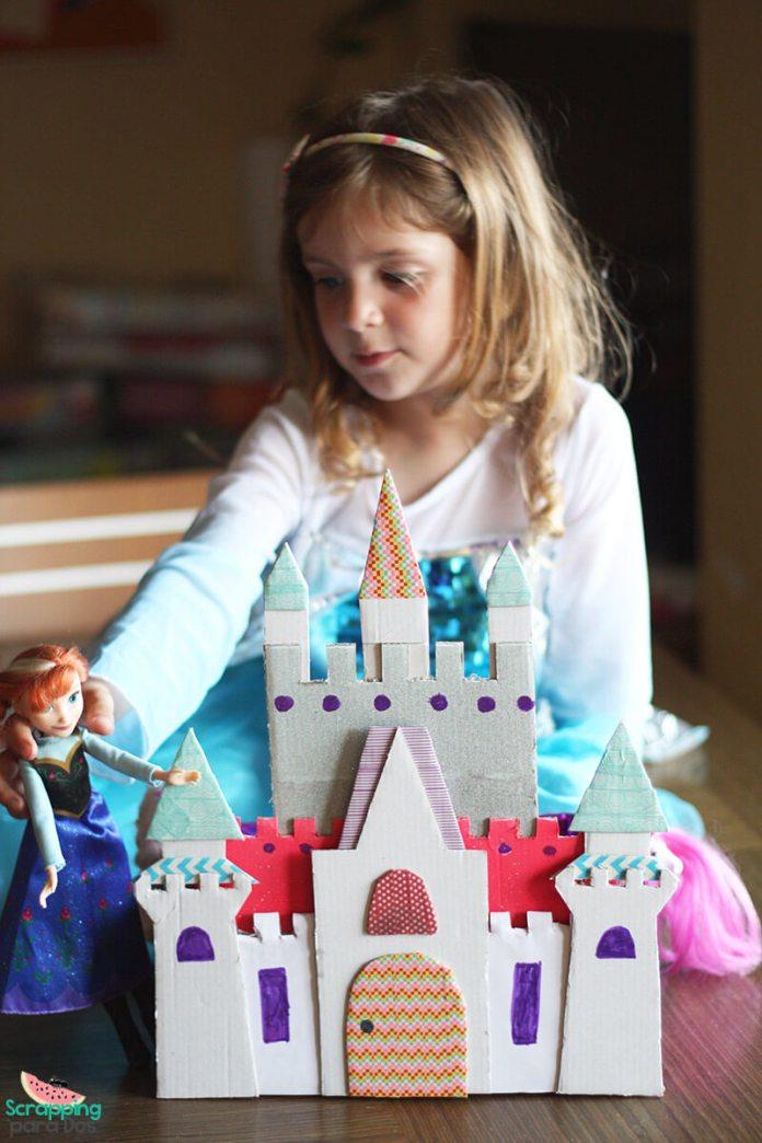 Castillo de Princesas de Cartón