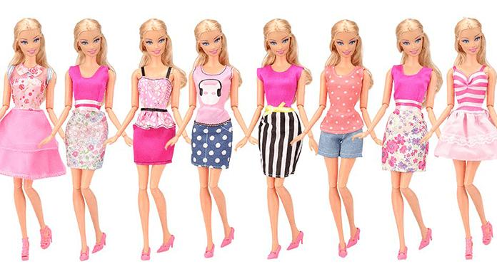 vestidos baratos para barbie