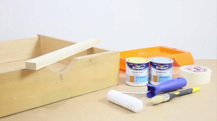 Materiales para Hacer un Cajón-Estantería Para Cuentos