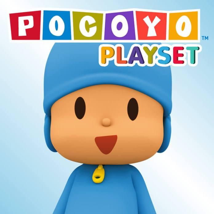 POCOYO Playset Juega y Aprende