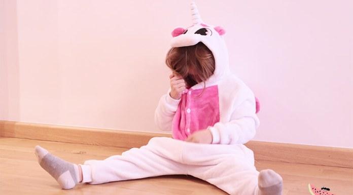 Pijama de unicornio