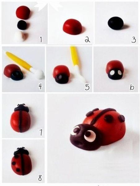 insectos de plastilina