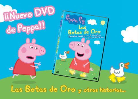 Nuevo DVD de Peppa Pig