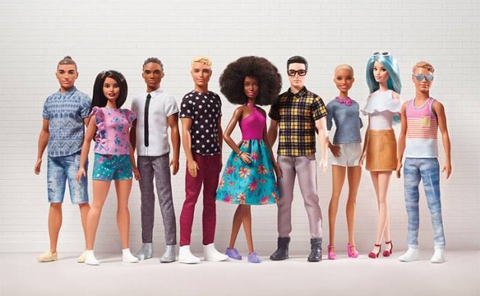 Los Nuevos Cuerpos de Ken - Barbie Fashionistas