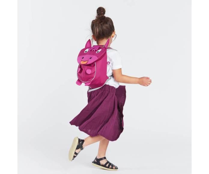 mochila pequeña burro rosa tutete