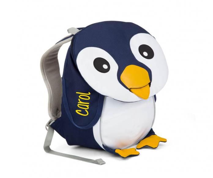 mochila pequeña pinguino
