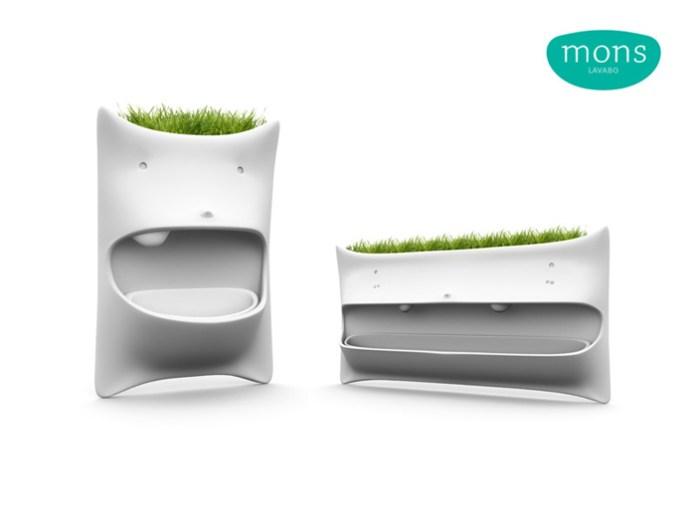 lavabos mons con plantas