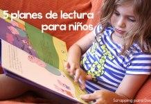 planes de lectura para niños