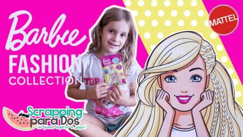 Barbie Fashion Collection - Sobres de Ministickers Adhesivos