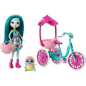 enchantimals bici de paseo