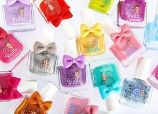 esmalte de uñas para niños snails