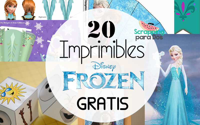 20 Imprimibles De Frozen Gratis