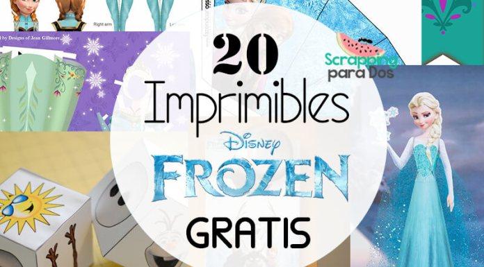 Imprimibles de Frozen Gratis