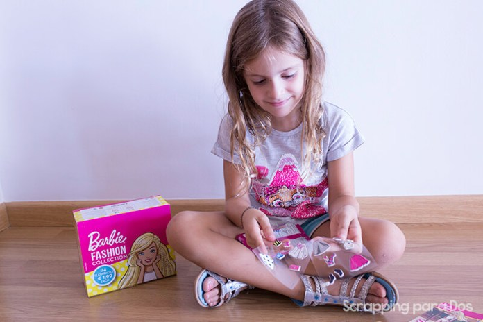 Barbie Fashion Collection - Sobres de Ministickers Adhesivos