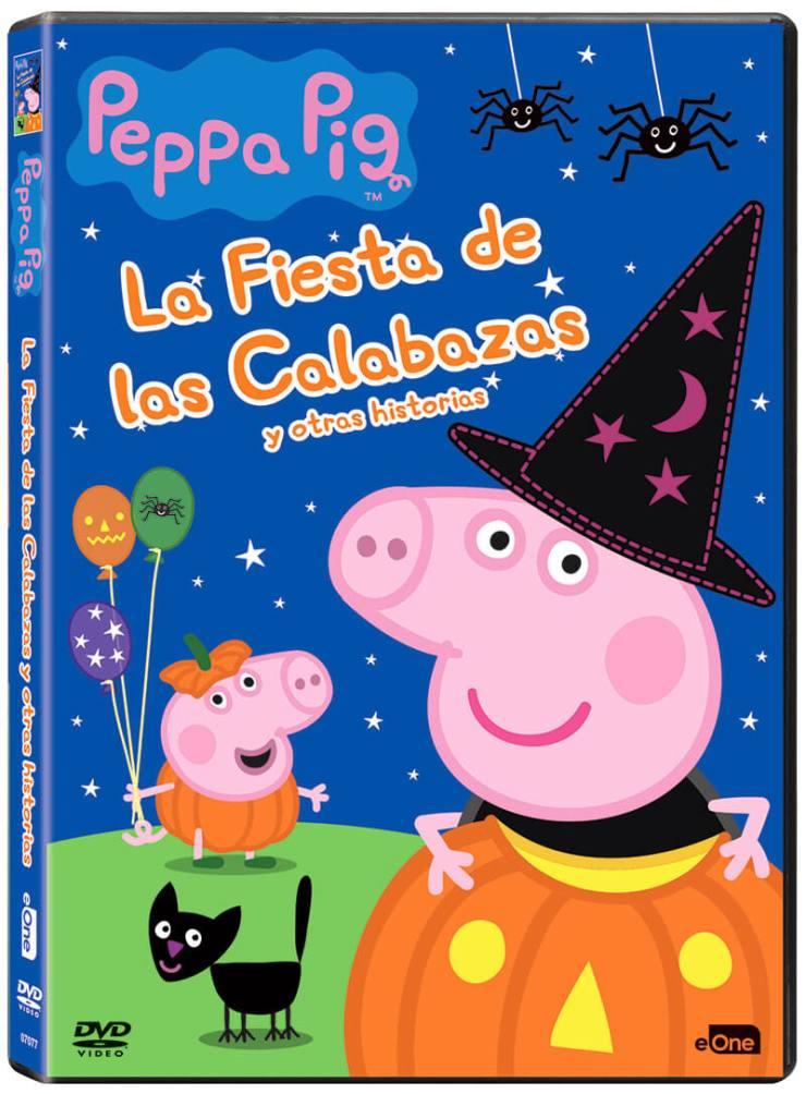 DVD de Peppa Pig La Fiesta de las Calabazas y Otras Historias