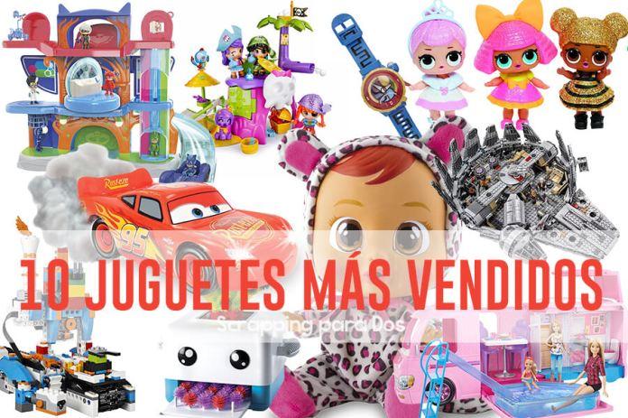 juguetes más vendidos