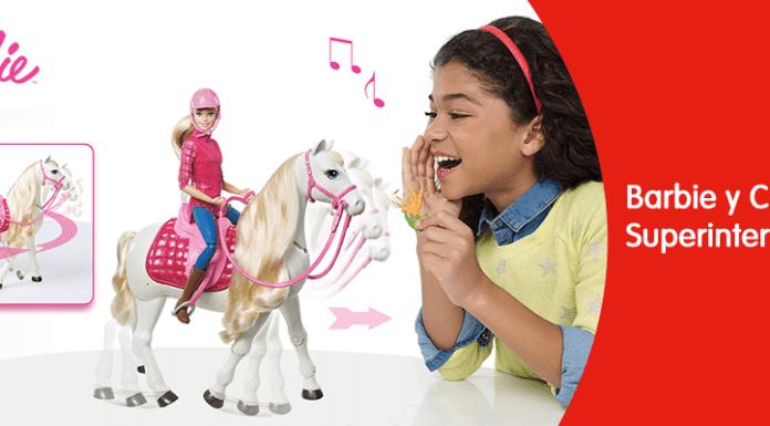 Barbie y su Caballo Interactivo