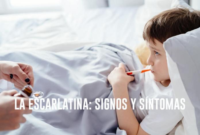 como tratar la escarlatina