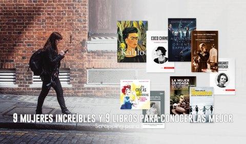 9 Mujeres Increíbles y 9 Libros para Conocerlas Mejor