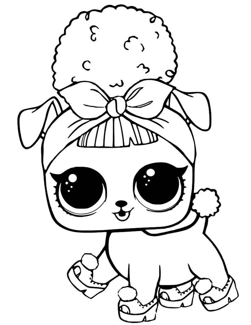 Dibujos para Colorear: Muñecas LOL