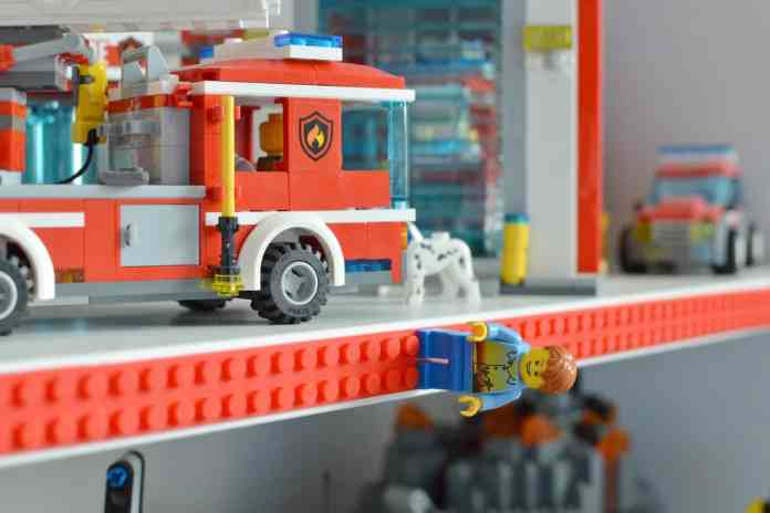 cinta adhesiva LEGO
