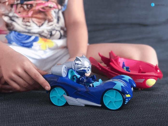 Vehículos Turbo PJ Masks Blast Racers