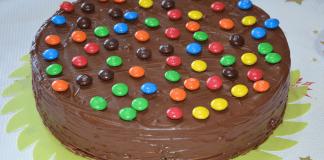 Recetas fáciles con chocolate: Tarta huesitos