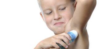 Cuándo deben usar desodorante los niños