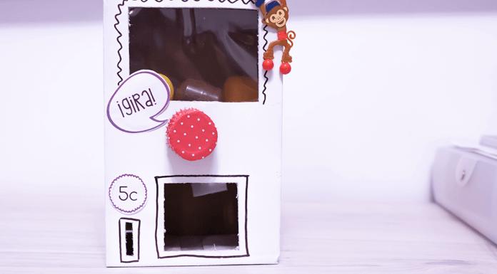 Como hacer una máquina expendedora de regalos DIY