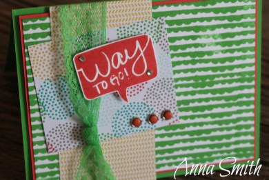 Way To Go Card Stampin' Up!