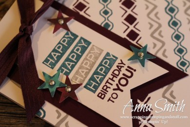 Bohemian Borders Birthday card #TGIFC10