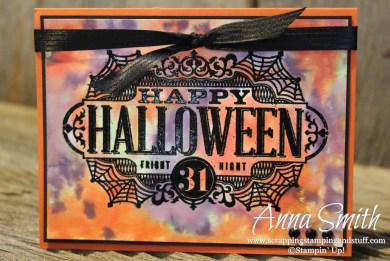 Witches' Night Watercolor Halloween Card