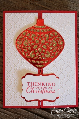 Embellished Ornaments Gate Fold Card Stampin' Up!