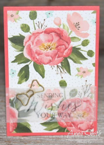 Sorry You're Sick Tissue Box and Card with tissue box cover instructions - uses Fabulous Four and Butterfly Basics stamp sets Birthday Bouquet designer paper by Stampin' Up!