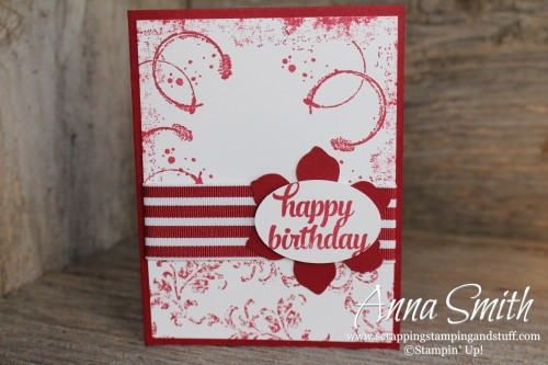 Timeless Textures Card Stampin' Up!
