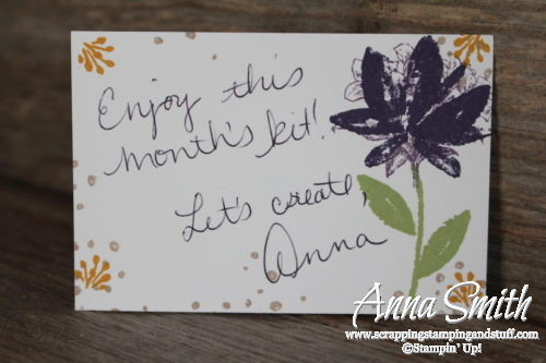 Stampin' Up! Avant Garden Handmade Card