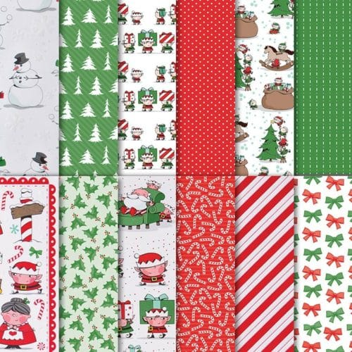 Stampin' Up! Santa's Workshop Designer Series Paper