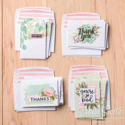 Stampin' Up! Notes of Kindness Card Kit
