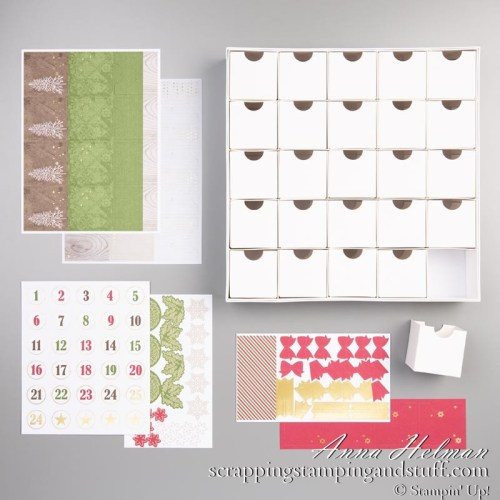Stampin Up Christmas Countdown Project Kit